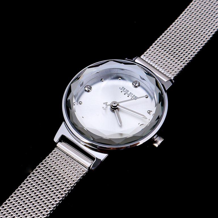 Đồng hồ nữ Julius Hàn Quốc chín hãng JA-917A JU1148 (Trắng bạc)
