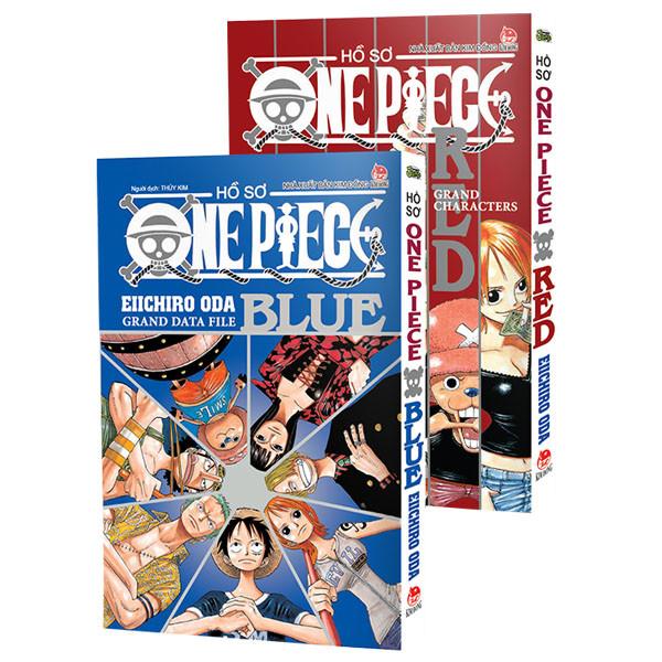Combo Hồ Sơ One Piece (Red Và Blue) (Tái Bản)