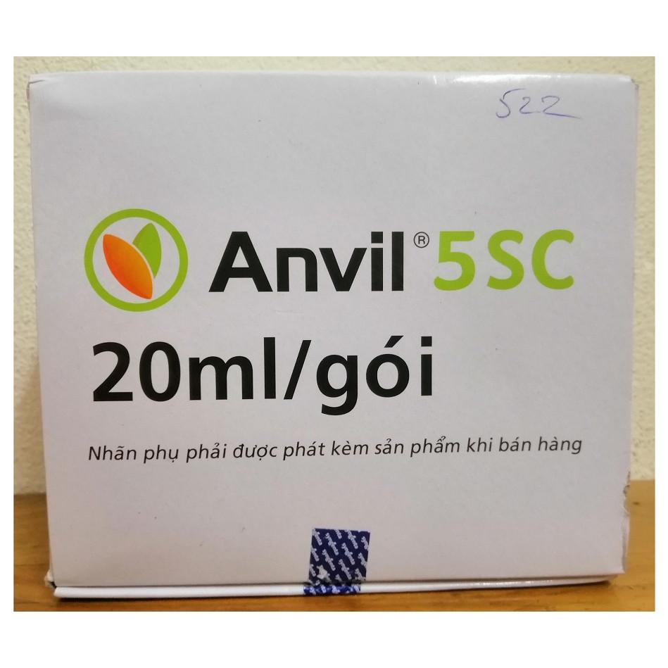 Hộp 20 Gói x 20ml, Sản Phần Trừ Bệnh ANVIL 5SC, Phòng Trừ Được Nhiều Bệnh Hại, Trên Nhiều Loại Cây