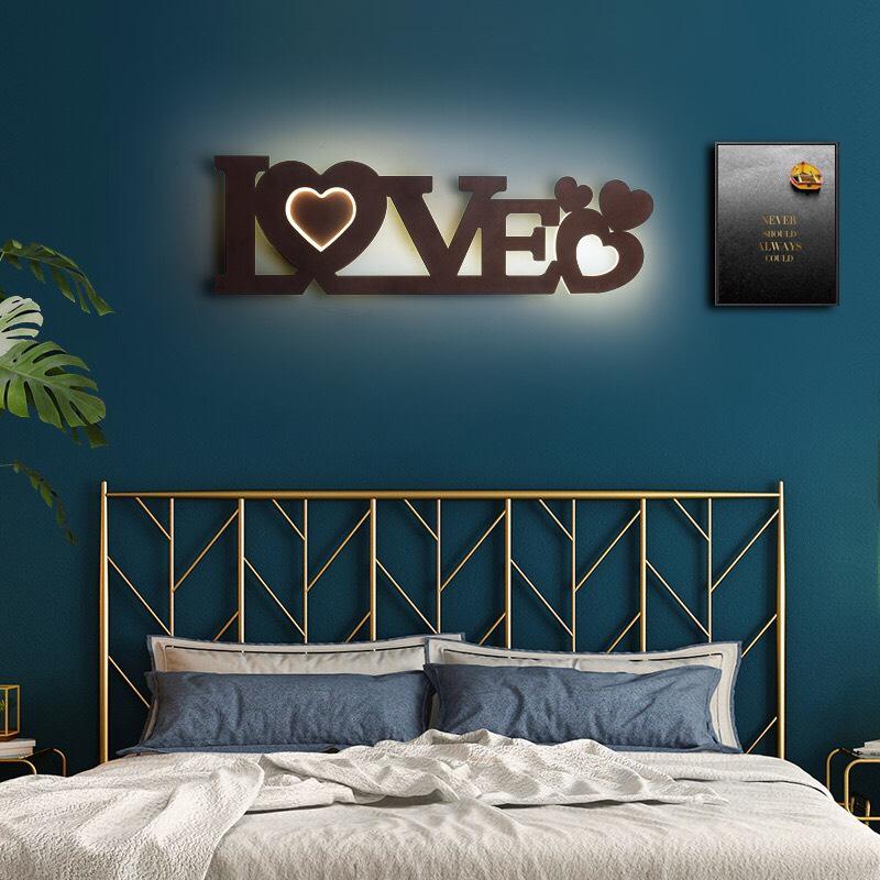 Đèn tường LeD LOVE phòng ngủ, phòng khách hiện đại dịu mắt DTLOVE