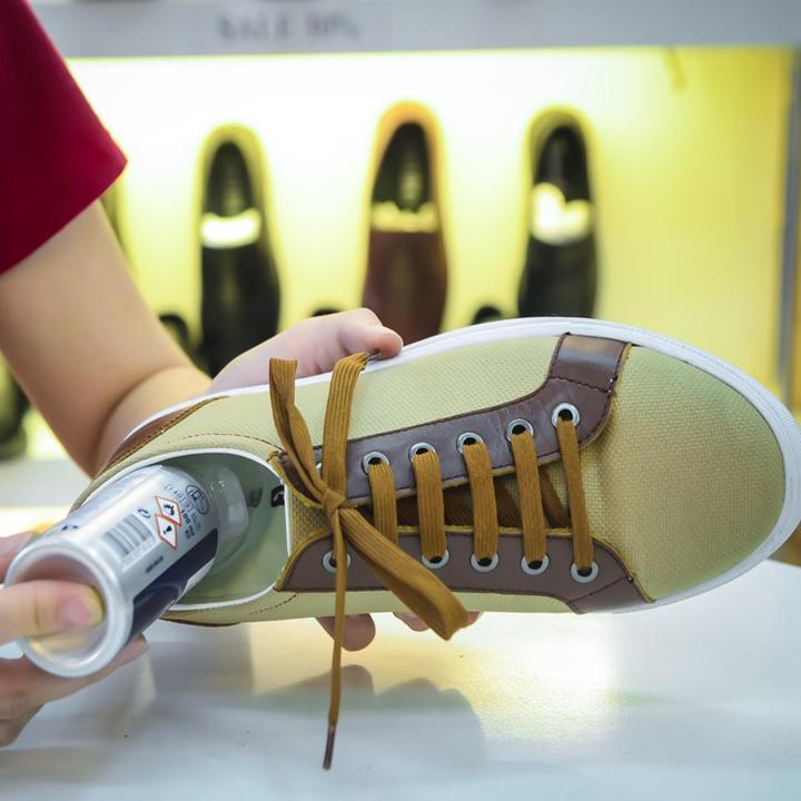 Xịt Khử Mùi Giày + Vệ Sinh Giày Shoeboys Nhập Khẩu Đức Mùi Thơm Thiên Nhiên Khử Mùi Hôi Giày Diệt Khuẩn, Dung Dịch Tẩy Trắng Giày Da, Thể Thao, Sneaker Hiệu Quả