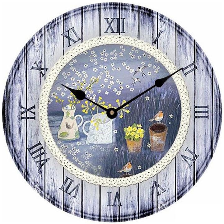 Đồng hồ treo tường phong cách cổ MS 58