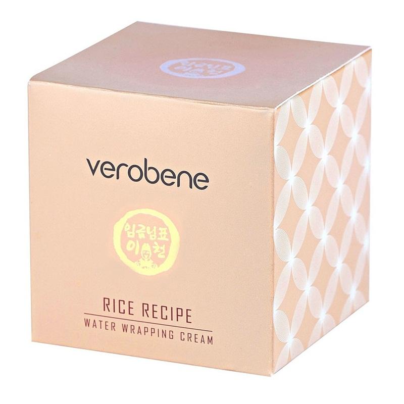 Kem Dưỡng Trắng Da Chống Nhăn Verobene Rice Recipe Water Cream