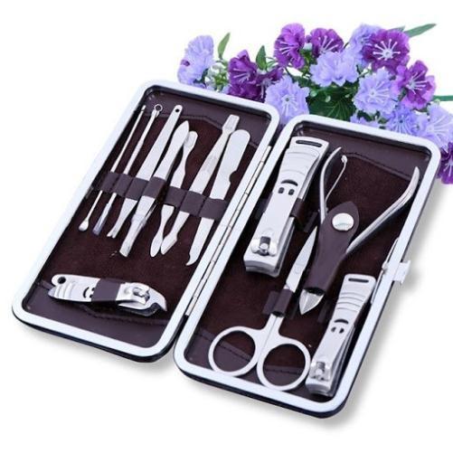 Bộ dụng cụ chăm sóc móng 12 món