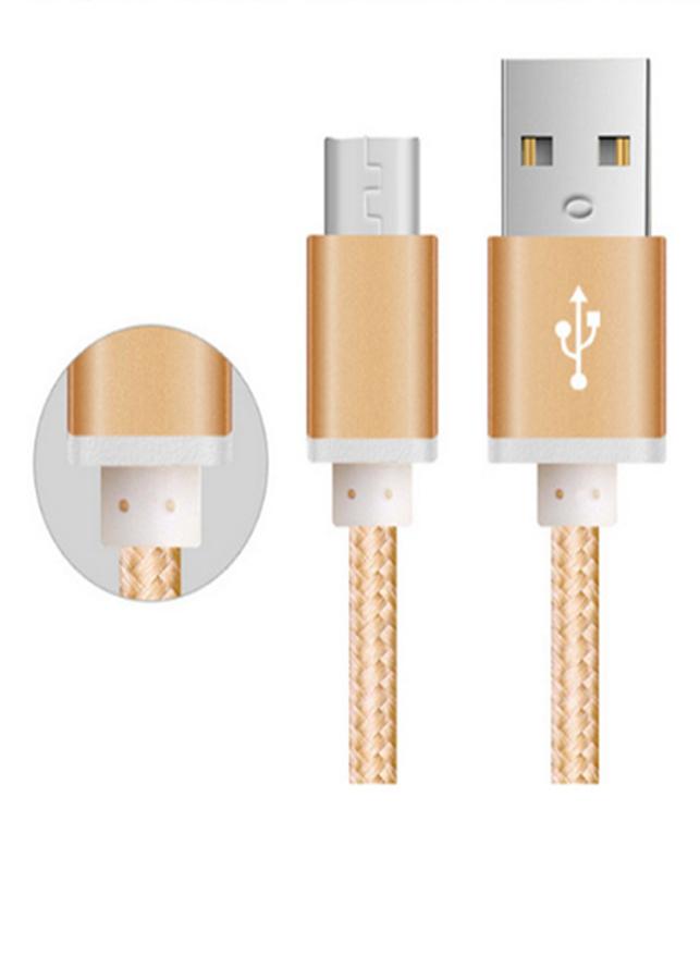 Combo 02 Cáp Sạc Micro USB Bọc lưới siêu bền cho samsung