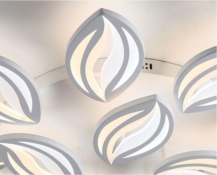 Đèn trần led 3 chế độ ánh sáng SUNSAI - có điều khiển từ xa tiện dụng