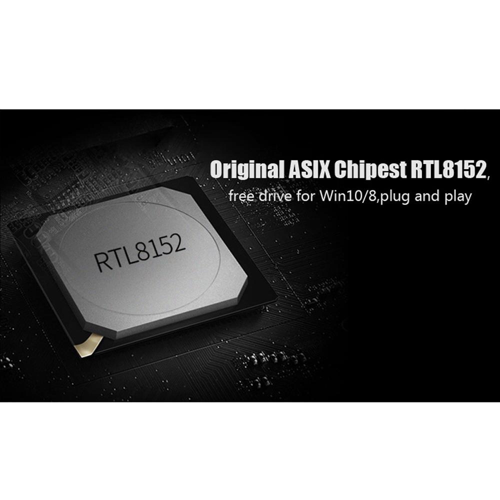Cáp chuyển đổi USB 3.0 to RJ45 Gigabit Vention Hàng chính hãng - CEHBB