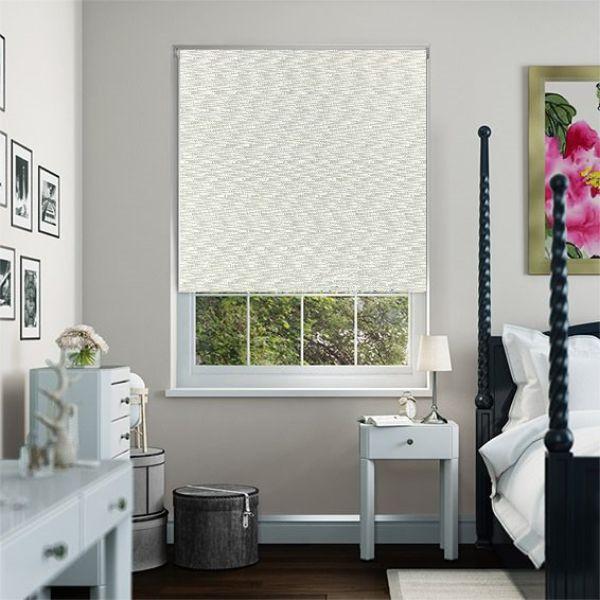Rèm cuốn cao cấp nguyên bản - ngang|rộng cố định 2.8m - nguyên thanh treo - mã vải MC309