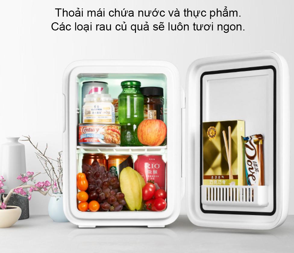 Tủ lạnh mini KEMIN (Dùng cả trên oto xe hơi và trong nhà) - Loại 10L