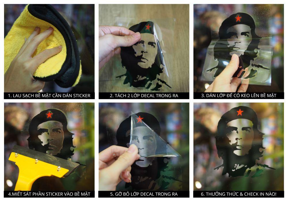 Sticker Transfer Che - BẠC