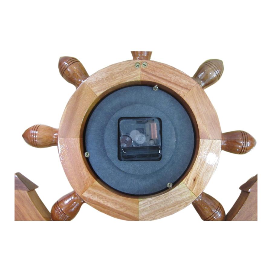 Mỏ neo tàu gỗ trang trí 60cm - có đồng hồ