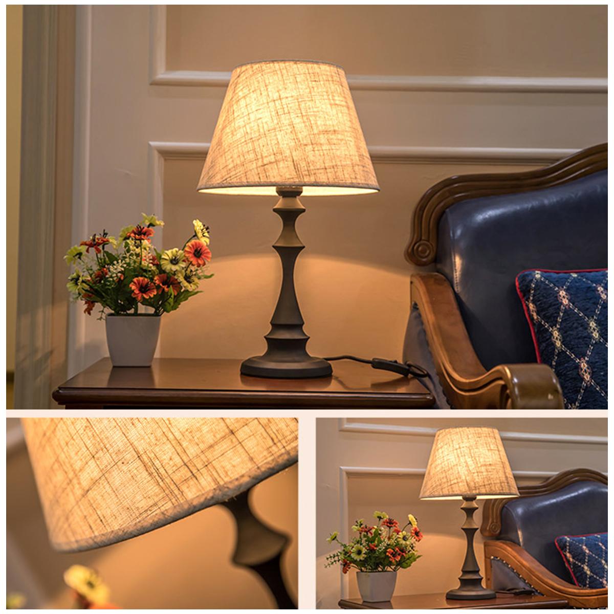 Đèn Để Bàn Hoàng Gia , Đèn Phòng Ngủ DN-300 - Trang Trí Phòng Ngủ Đẹp, Phong Cách Nội Thất Phòng Ngủ Sang Trọng & Đẳng Cấp, Ánh Sáng Êm Dịu & Ấm Áp.