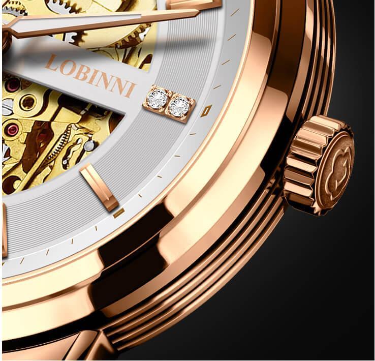Đồng hồ nam chính hãng Lobinni No.5014-3