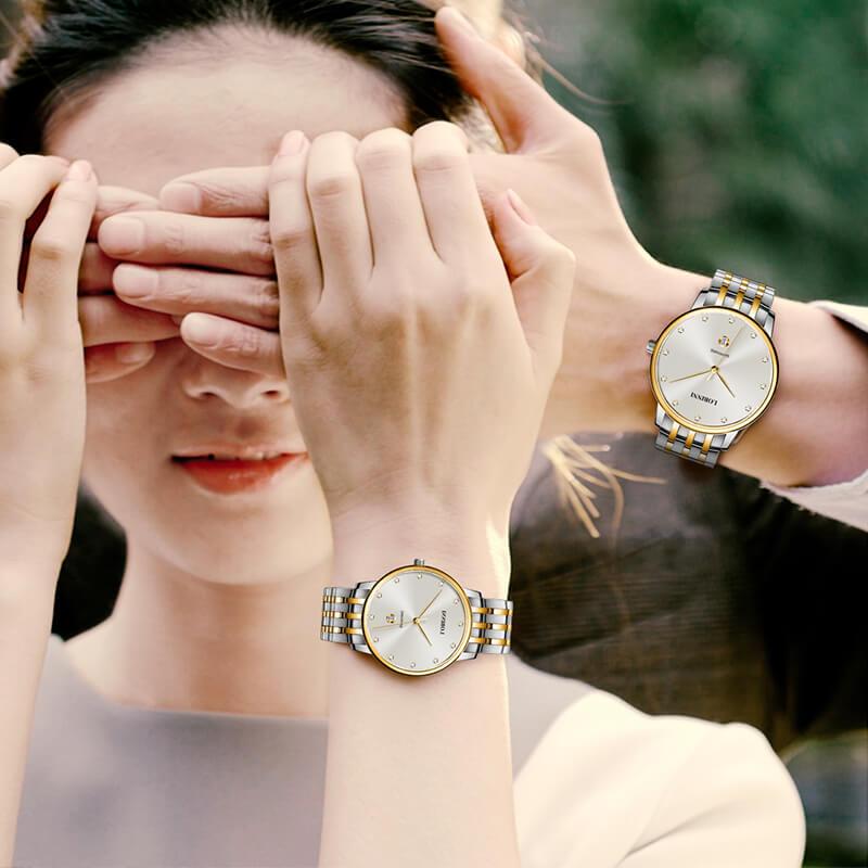 Đồng hồ đôi chính hãng Lobinni No.3010-2