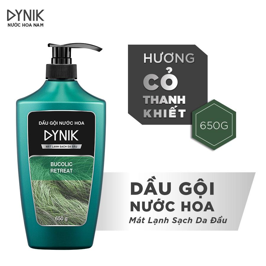 Combo tắm gội nam Dynik - Hương cỏ thanh khiết  650g/chai