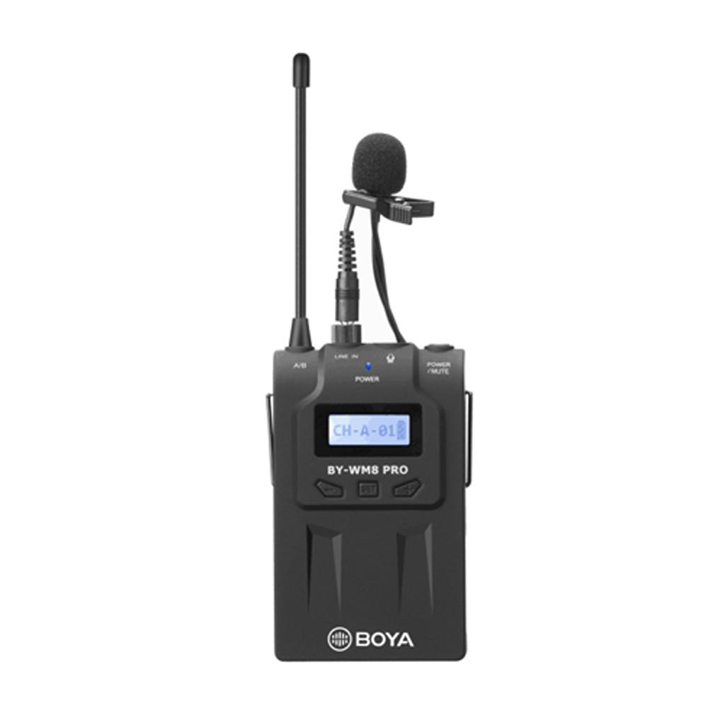 Phụ Kiện Âm Thanh BOYA Chuyên Nghiệp Wireless Microphone System BY-WM8 Pro-K1, Chất Lượng Cao - Hàng Chính Hãng