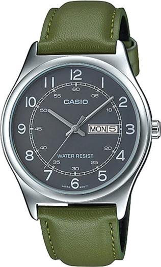 Đồng hồ dây da casio MTP-V006L-3BUDF