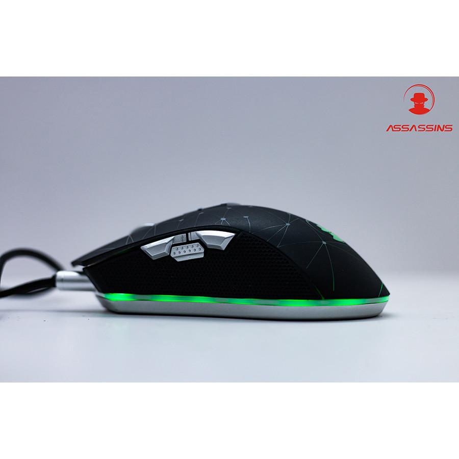 Chuột gaming có dây Assassins G600 - Hàng chính hãng