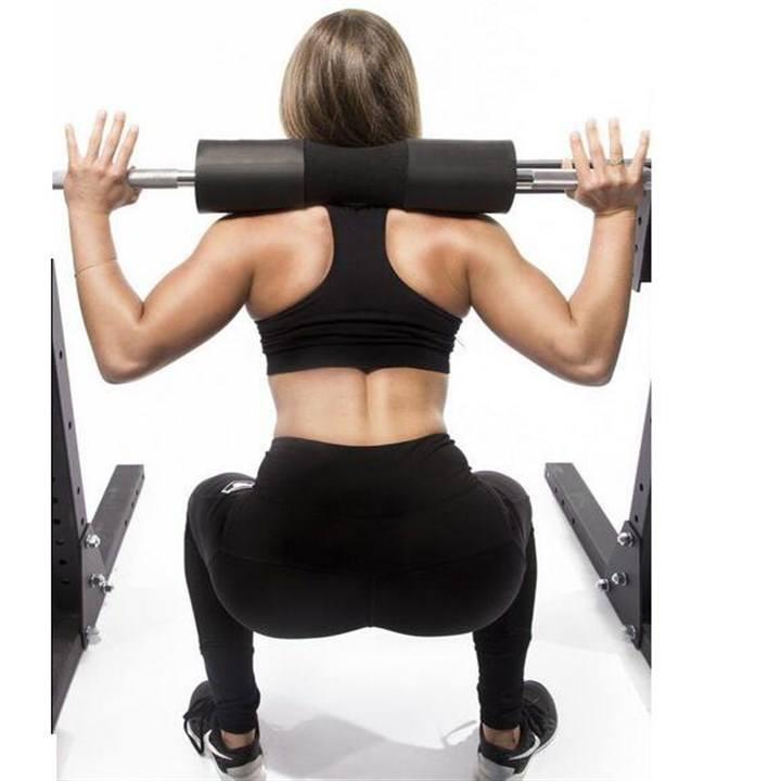 Đệm mút xốp hỗ trợ gánh tạ squats an toàn
