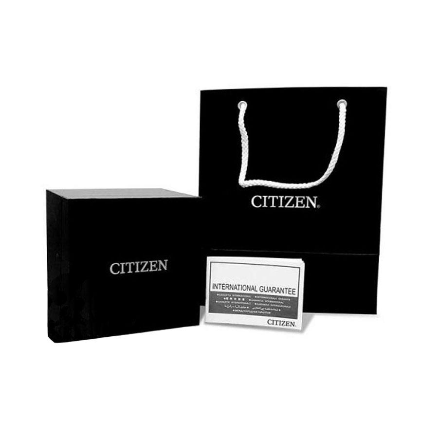 Đồng Hồ Citizen C7 Dây Kim Loại Máy Cơ-Automatic NH8394-70H - Mặt Đen (40mm)