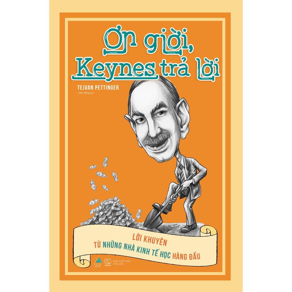 Sách - Ơn giời, Keynes trả lời ( tặng kèm bookmark thiết kế )