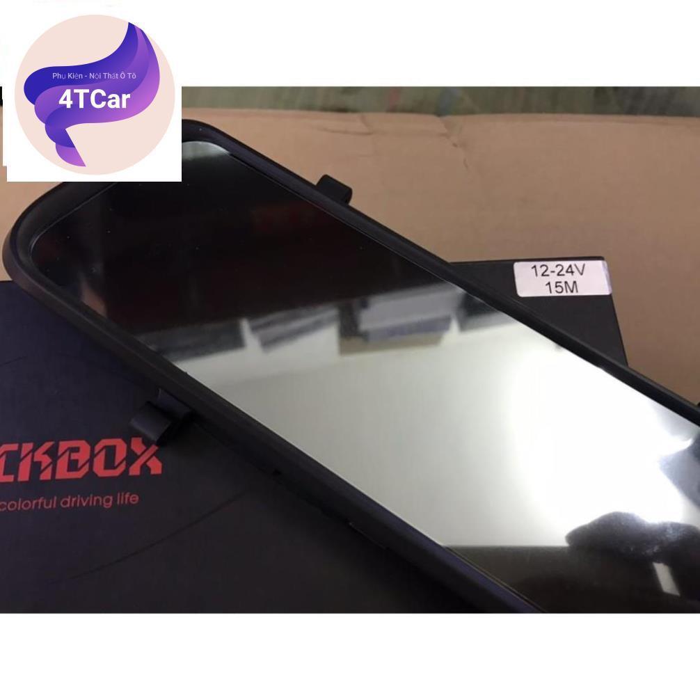 CAMERA HÀNH TRÌNH BlackBox Q10 KẸP GƯƠNG 12-24V