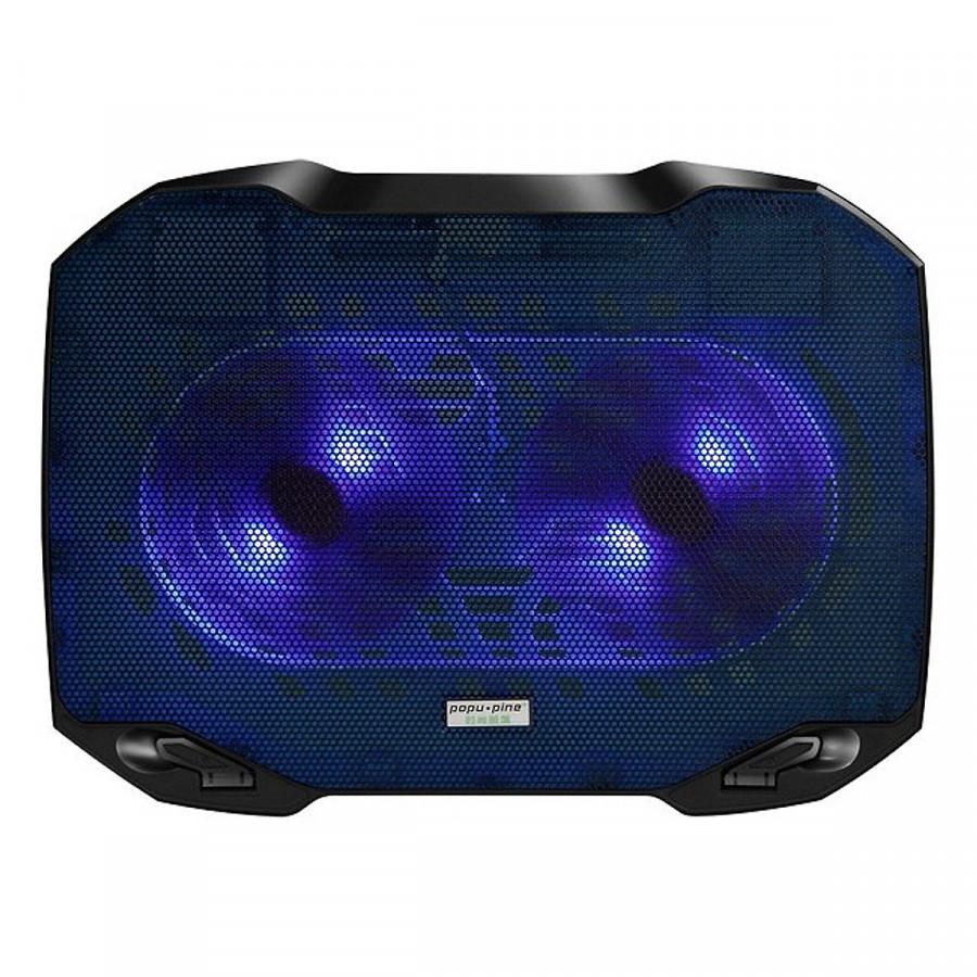 Đế Tản Nhiệt Cao Cấp Cool Cold F2 Pro (2 Fan chạy cực êm) - Hàng Chính Hãng