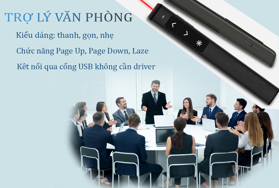 Bút thuyết trình VP158, Hỗ trợ thuyết trình, lật slide, Điều khiển bằng tia hồng ngoại_Giao màu ngẫu nhiên