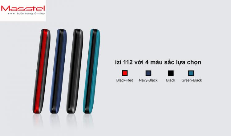 Điện thoại Masstel Izi 112 - Hàng chính hãng 1