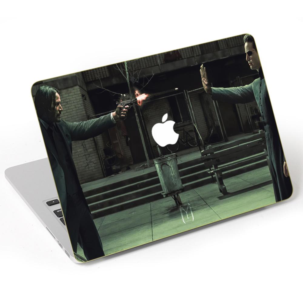 Mẫu Dán Trang Trí Dành Cho Macbook Mặt Ngoài + Lót Tay Mac - 247