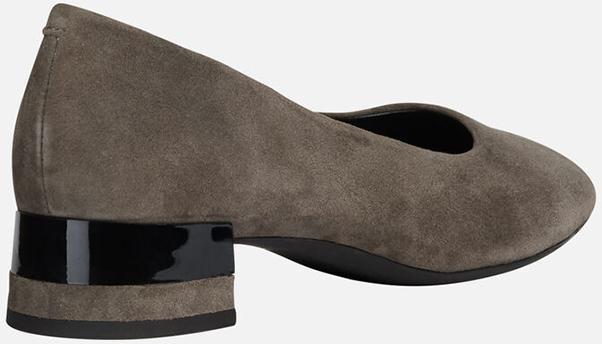 Giày Bít Mũi Nữ GEOX D D Chloo M. B - Goat Suede