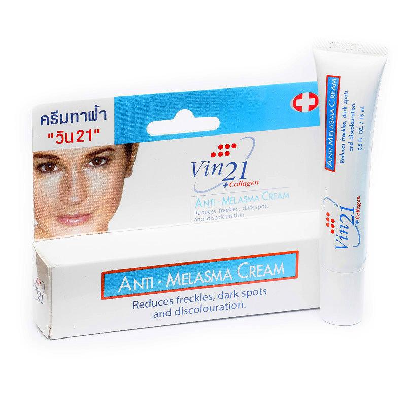 Kem giúp giảm nám, tàn nhang Vin21 Anti Melasma Cream