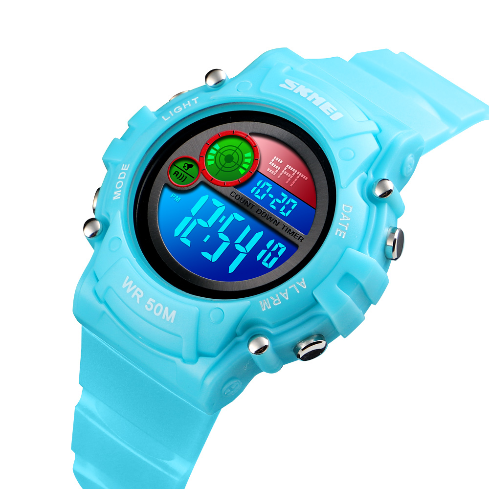 Đồng hồ đeo tay Skmei - 1477LTBU-Hàng Chính Hãng