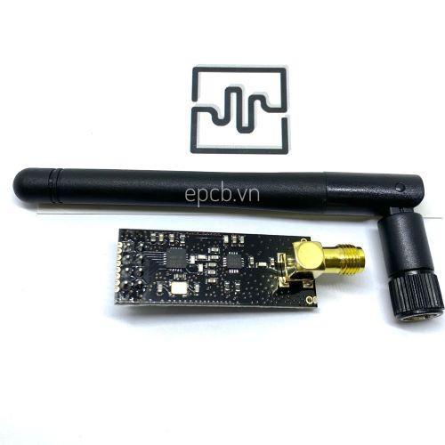 Mạch Thu Phát RF NRF24L01 + PA + LNA 2.4Ghz Anten Rời