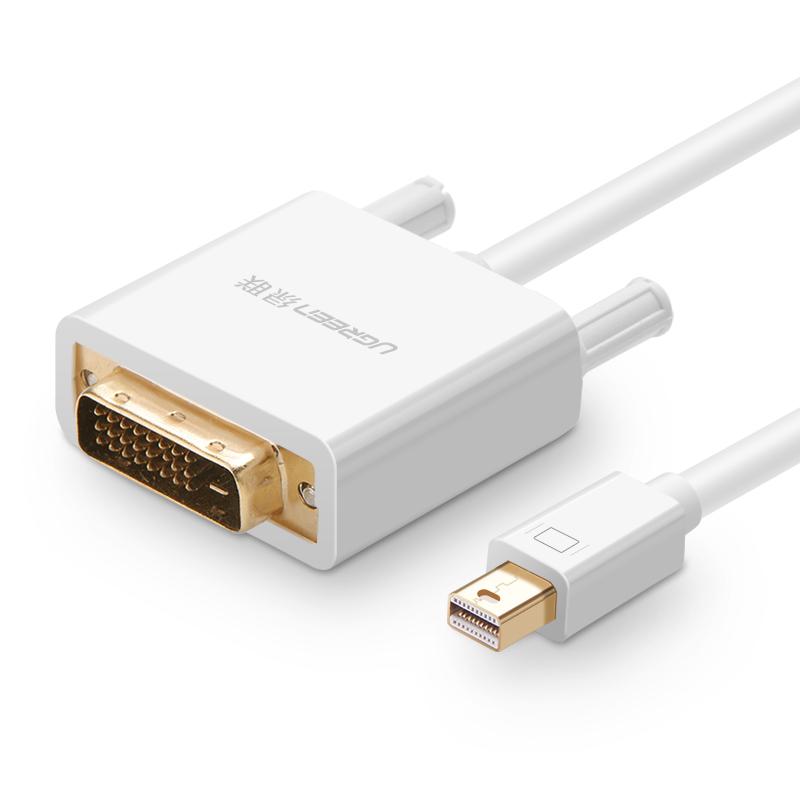 Cáp chuyển đổi mini DisplayPort sang DVI-D (24+1) dài 3m UGREEN MD102 10425 - Hàng Chính Hãng