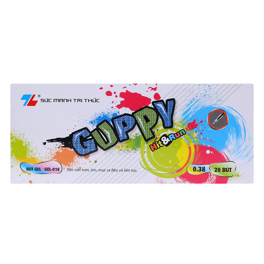 Hộp 20 Bút Thiên Long GEL-018 - Đỏ