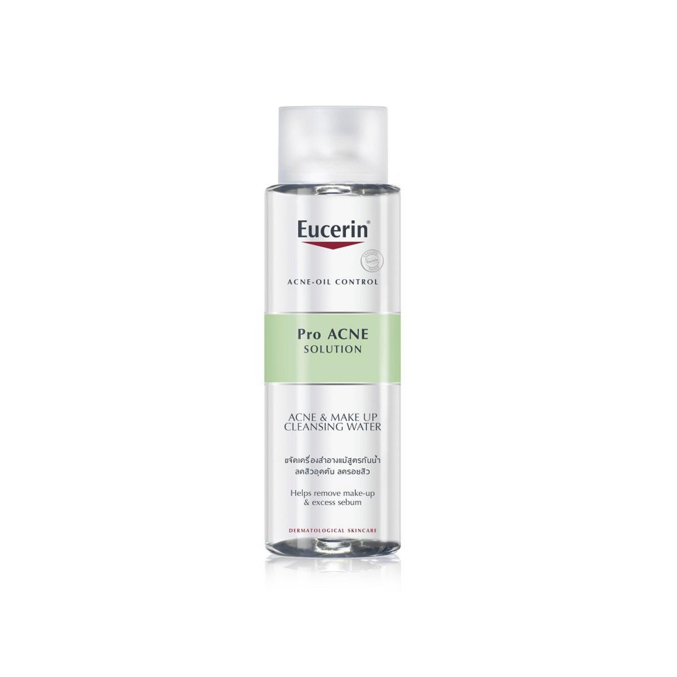 Nước tẩy trang cho da mụn Eucerin Pro Acne Solution Acne & Make Up Cleansing Water (Nhập khẩu)