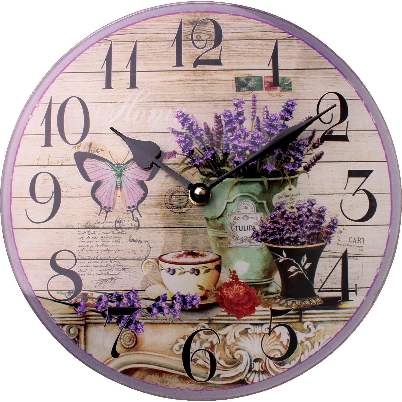 Đồng hồ treo tường Vintage Phong cách Châu Âu size 23cm DH54