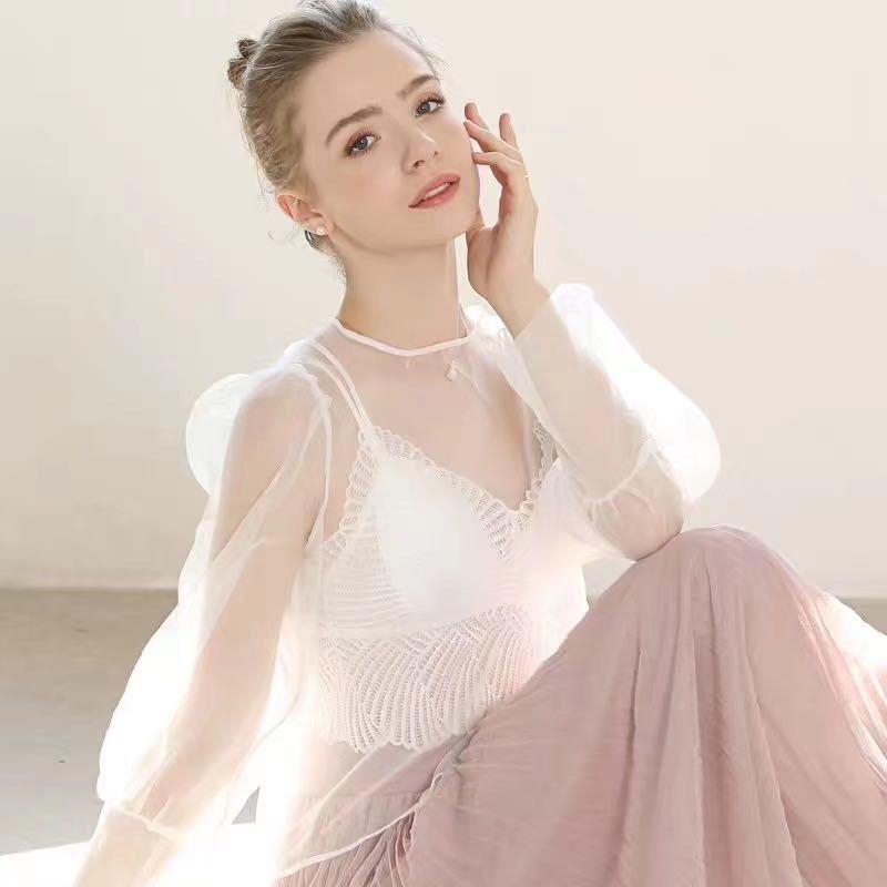 Áo Bra dệt lưng chéo cách điệu quyến rũ 2 dây thời trang cao cấp dành cho nũ- Lê Ngọc Fashion