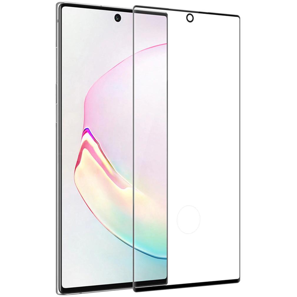 Miếng dán cường lực 3D full màn hình cho Samsung Galaxy Note 10 Plus / Note 10 Plus 5G hiệu Nillkin CP + Max ( Mỏng 0.23mm, Kính ACC Japan, Chống Lóa, Hạn Chế Vân Tay) - Hàng chính hãng