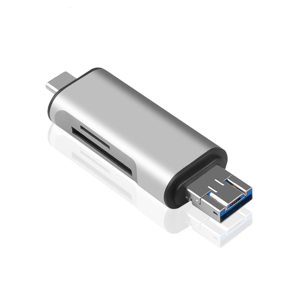 Đầu Đọc Thẻ Đa Năng USB 2.0 OTG 5 Trong 1