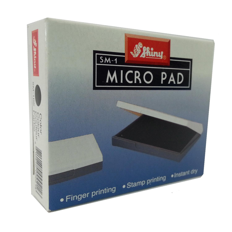 Hộp Dấu Lăn Tay Hình Chữ Nhật MicroPad Shiny