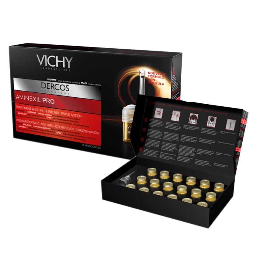 Tinh Chất Ngăn Ngừa Và Giảm Rụng Tóc Cho Nam Vichy Dercos Technique Anti - Hair Loss Treatment Men 12x6ml - 100533508