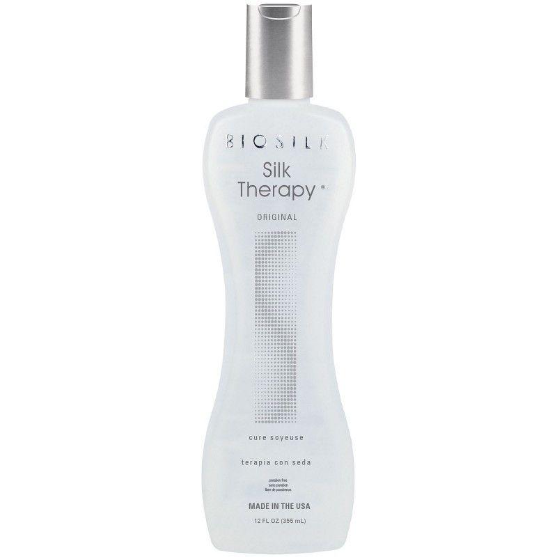 Tinh dầu Biosilk Silk Therapy dưỡng bóng tóc cao cấp Mỹ 355ml
