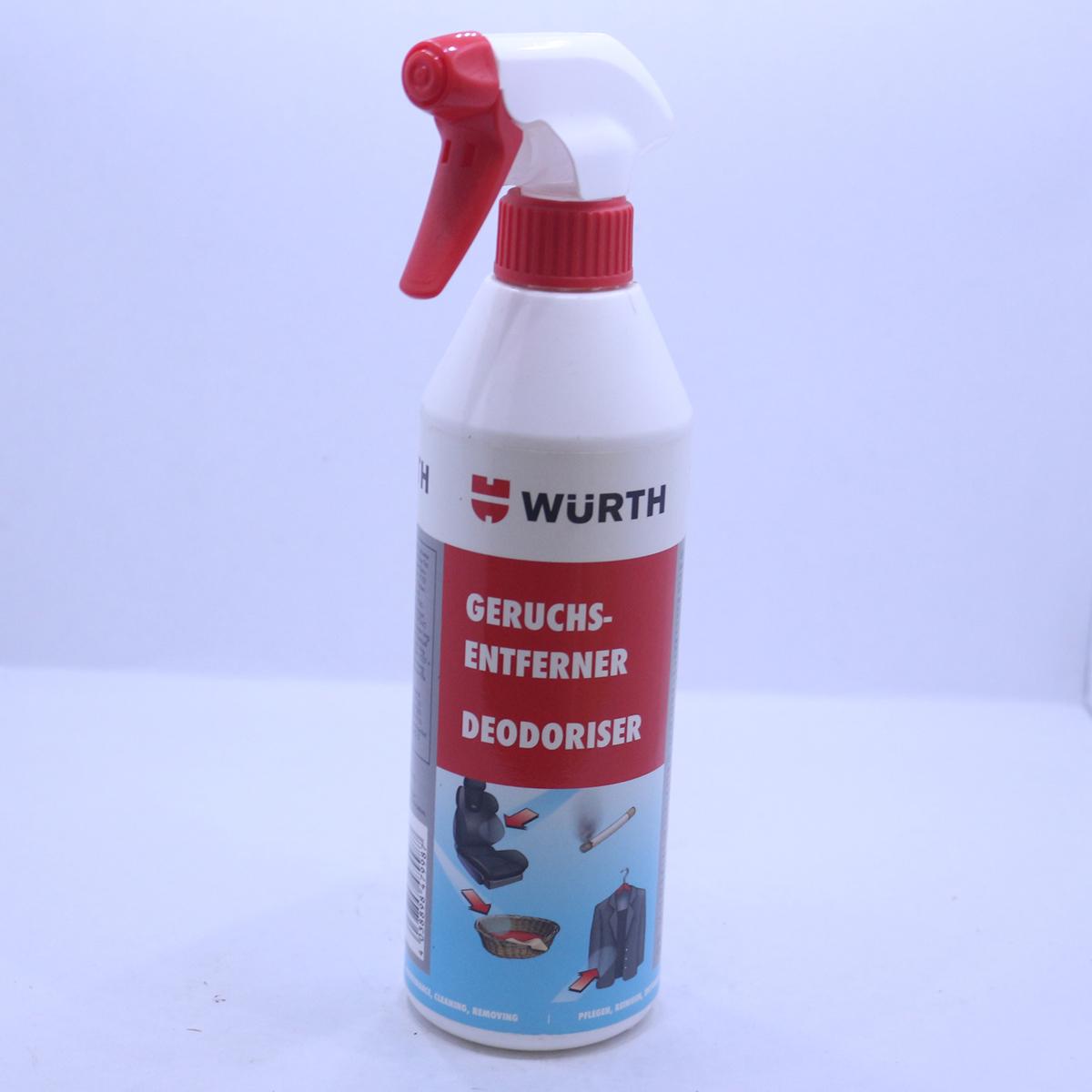 Chất khử mùi nội thất Wurth Deodoriser 500ml 089313920