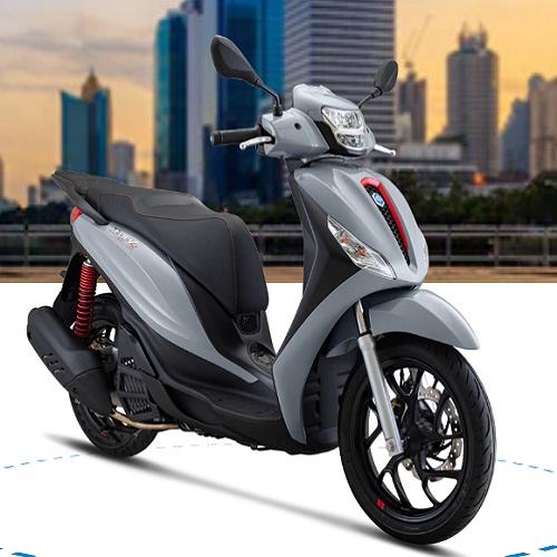 Xe máy Piaggio Medley 125 S ABS E3 LED - XÁM BẠC