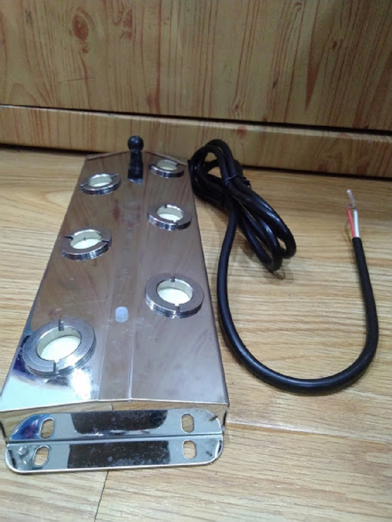 Vỉ tạo độ ẩm (6 mắt) dùng sóng siêu âm, làm mát bên trong nhà