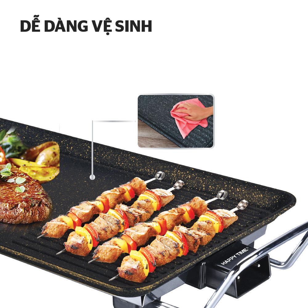 Bếp Nướng Điện Happy Time Sunhouse HTD4606 - Hàng chính hãng