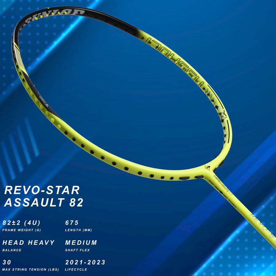 Vợt cầu lông Dunlop Revo Star Assault 82 - Vợt công