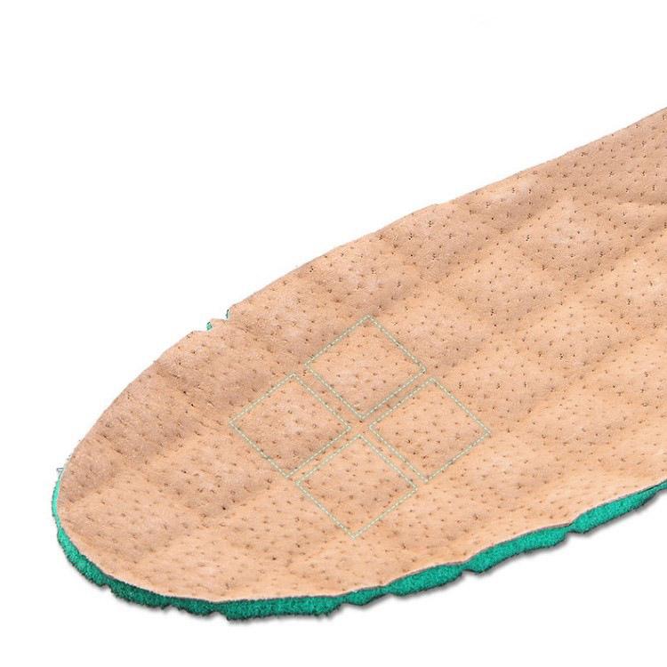 Miếng lót đế giày big size 45,46 bằng da heo khử mùi thoáng khí thấm hút mồ hôi